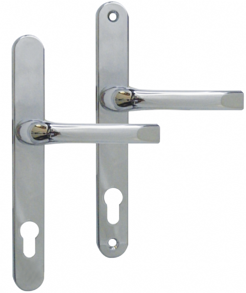 92-200 UPVC Door Handle - Satin Chrome